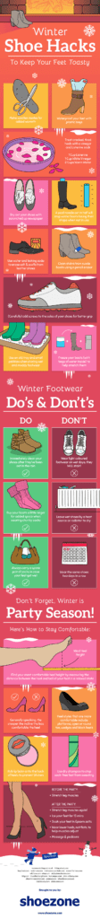 Winter proof your shoes - Here's How