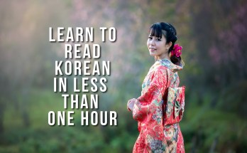 Learning Korean Featured