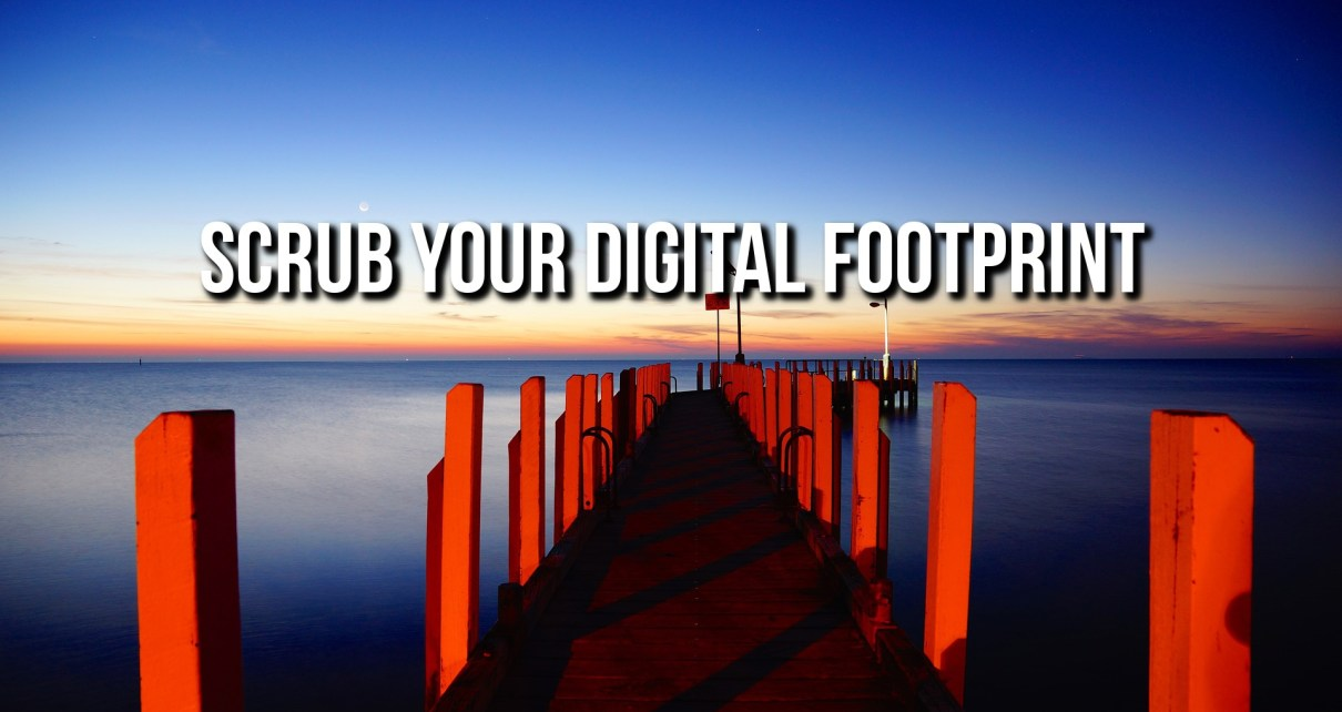 Delete Your Digital Footprint