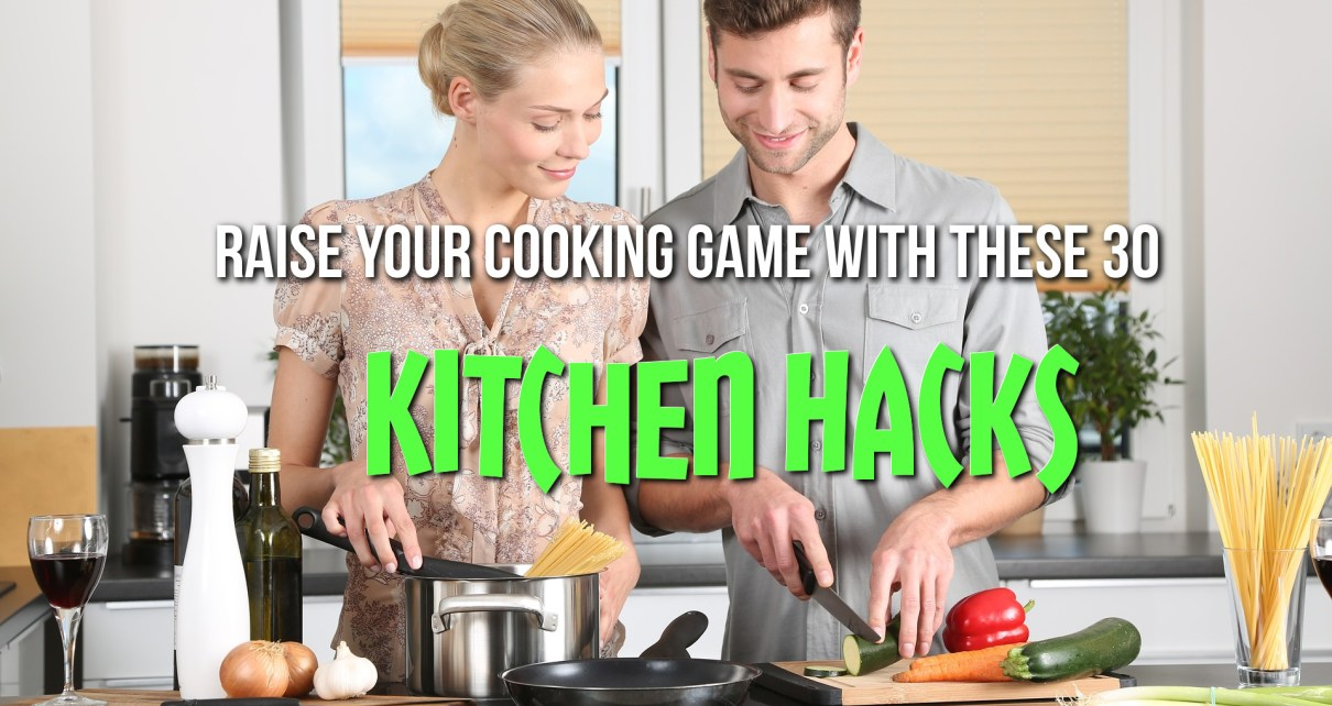 Kitchen Hacks Featured