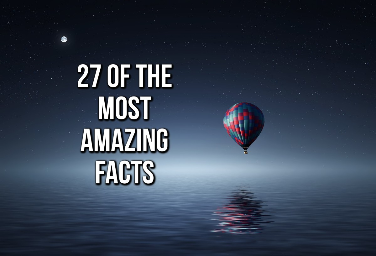 27 Of The Most Amazing Facts