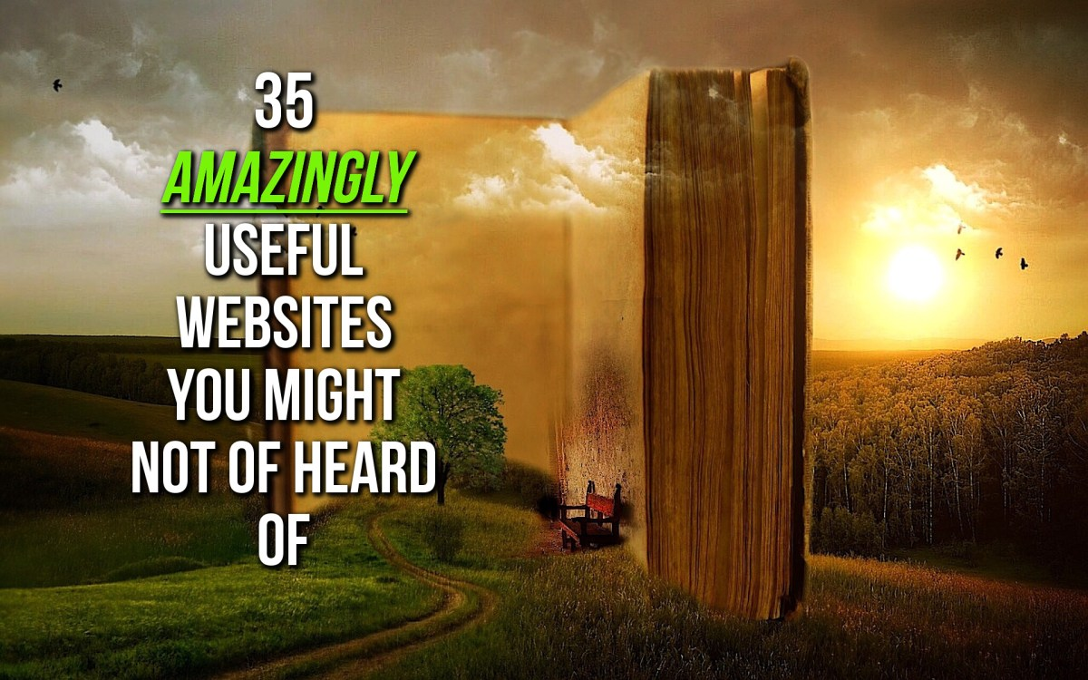 35 Amazingly Useful Websites You Might Not Know