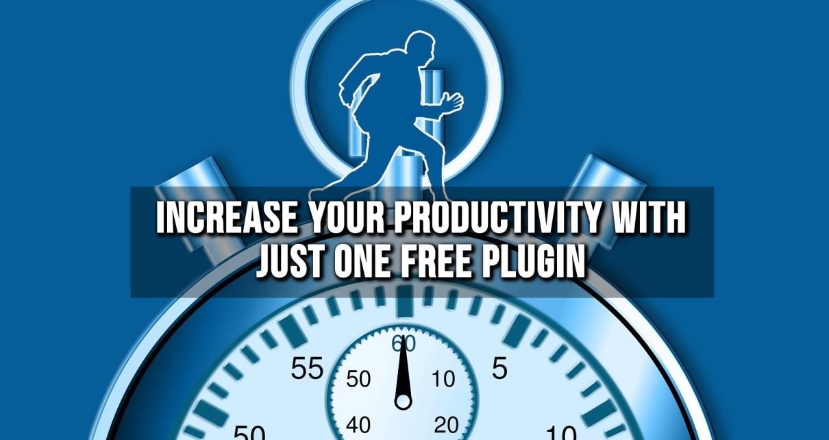 Increase Productivity Plugin