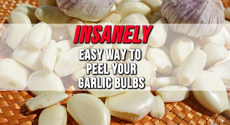 Peel Garlic Quickly Featured Pic