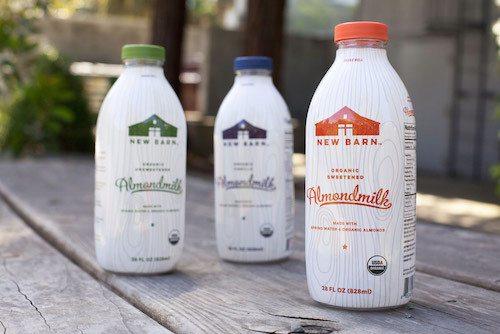 new barn almond milk