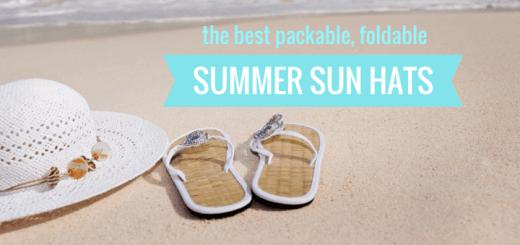 packable sun hats