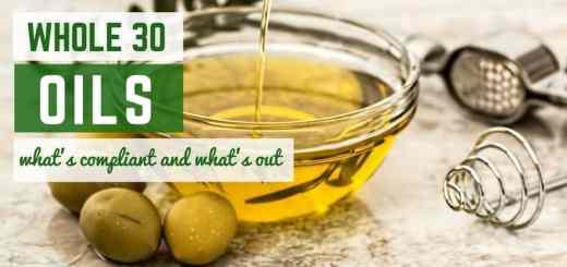 whole30 oils