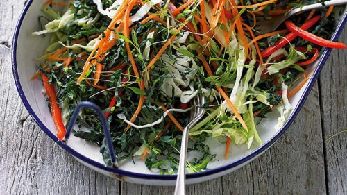 coleslaw-whole30-kale