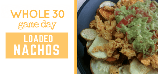 whole30 nacho recipe