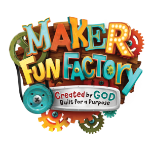 Maker Fun Factoru - Created by God, Built for a Purpose