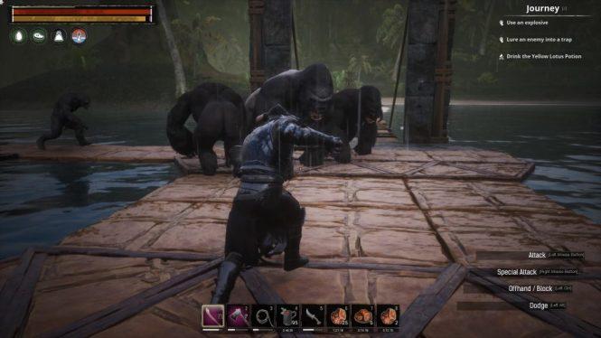 Purge Apes Swamp Conan Exiles