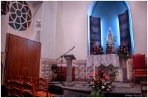 Chapel on haunted hill inside
