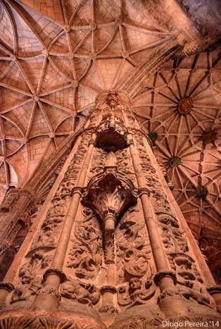 Mosteiro Dos Jeronimos Coluna