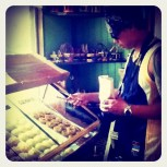 picking muffins