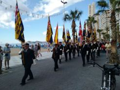 The Royal British Legion chose Benidorm to launch the 2015 poppy appea