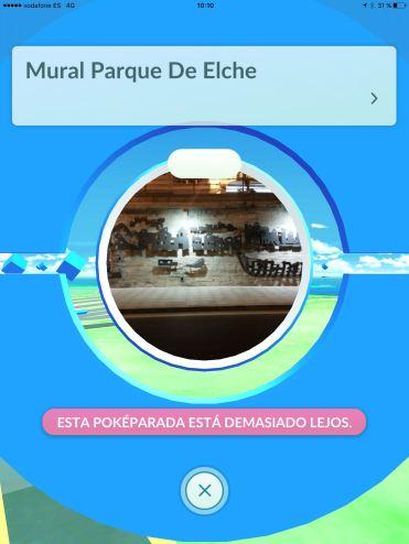 Pokeparada Mural Parque de Elche #BenidormPokemonGo
