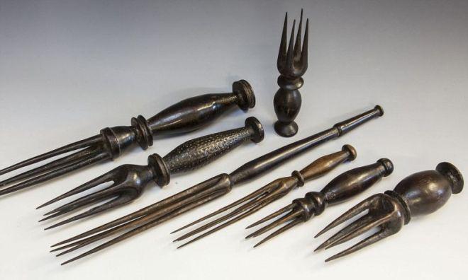 Apie Fidžį - kanibalų įrankiai