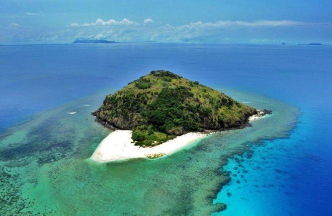 Yadua sala Fidžyje iš viršaus