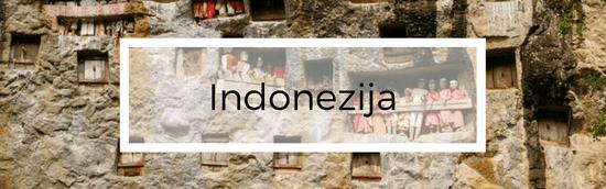 Aplankytos šalys - Indonezijos salos