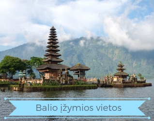 Turas po Balį - Balio įžymios vietos