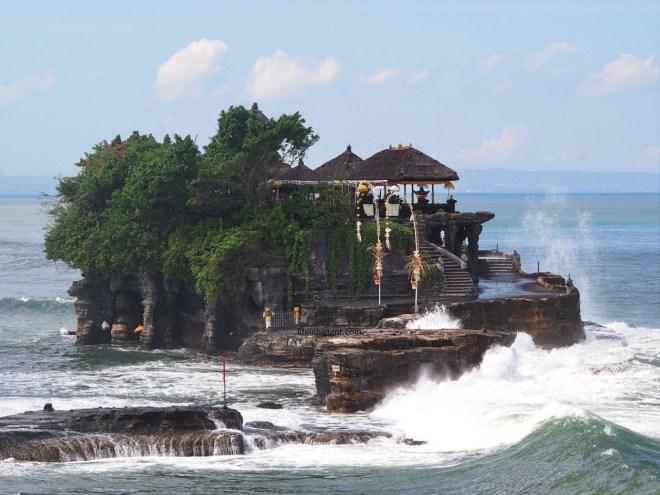 Balio įžymios vietos - Tanah Lot šventykla
