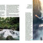 Kelionių istorijos iš Indonezijos - Pliažo knygos straipsnio maketas