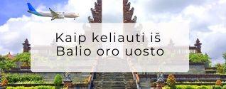 Transportas Balio oro uostas