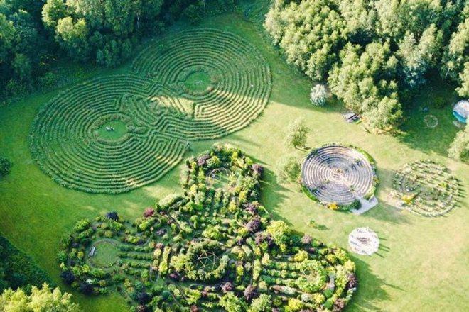 Balis Lietuvoje - labirintai