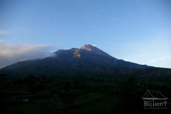 Beauty of mount Merapi