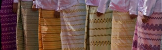 Wearing tube sarong