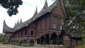 Customary house of Minangkabau