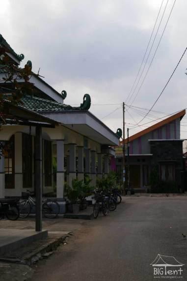 Mosque near homes