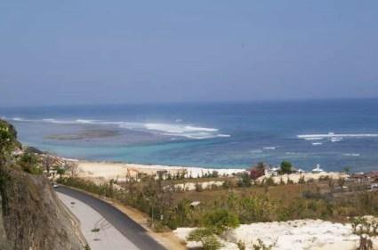 Panorama of Pandawa beach