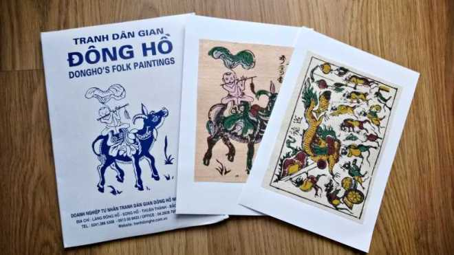 Do paper - souvenirs from Vietnam