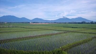 View from Yogyakarta to Bali