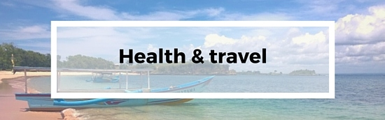 Travel resources - health tips