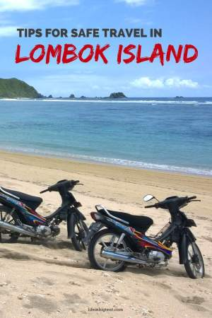 Travel tips for traveling in Lombok