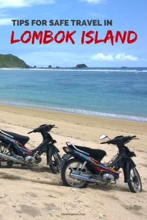 Travel tips for traveling in Lombok