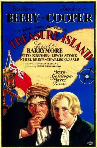 Treasure Island poster - 1934