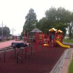 Lekplatsträning och stora glassar