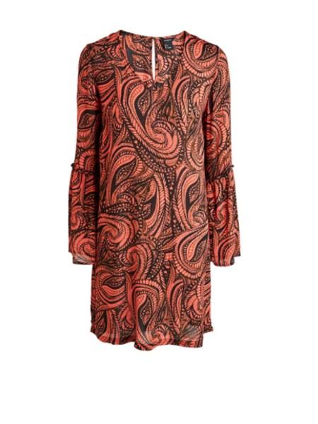 Färgstart bohemklänning från Lindex