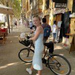 Cykel till Purobeach och shopping