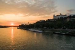 Copie de Copie de couché de soleil Bratislava 1