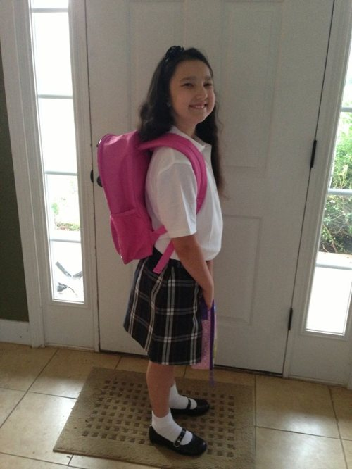 first day of third grade