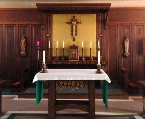 ND Chapel Altar