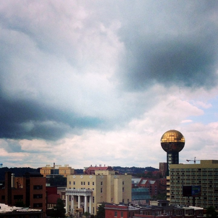 Storm over Knoxville