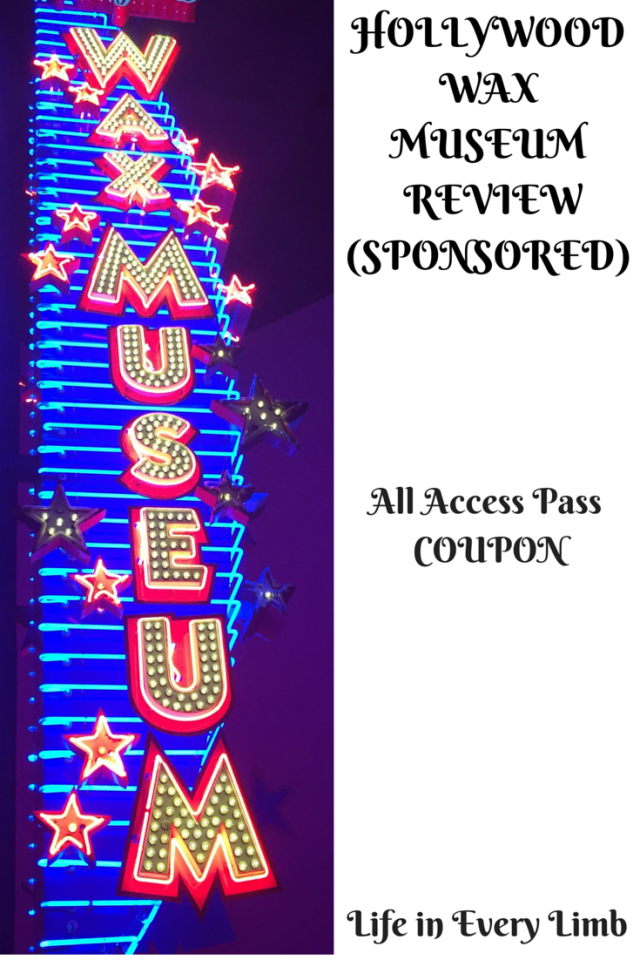HOLLYWOOD WAX MUSEUM REVIEW (SPONSORED)
