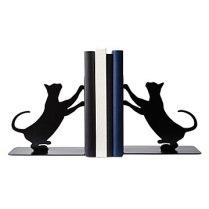 cat book ends