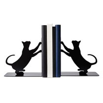 cat book ends