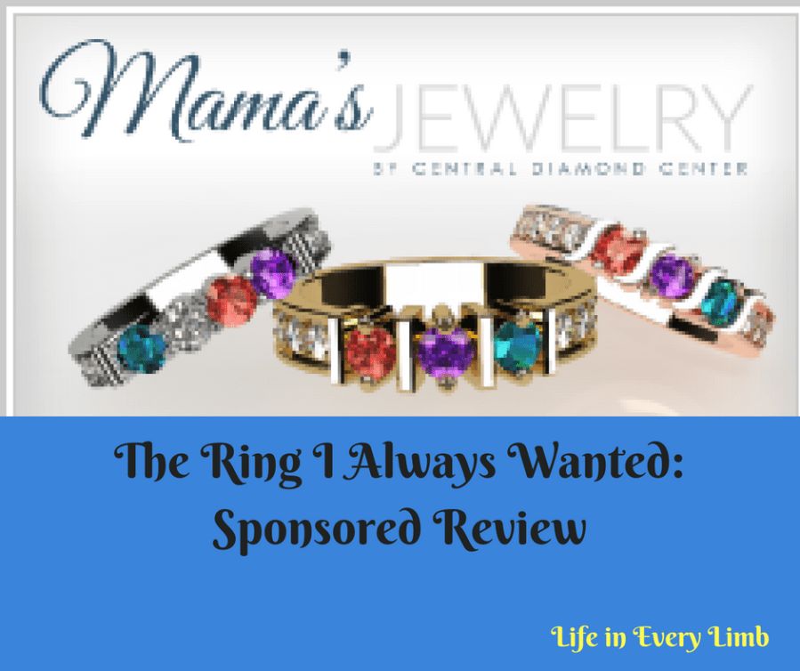 Mothers rings from Mama's Jewelry